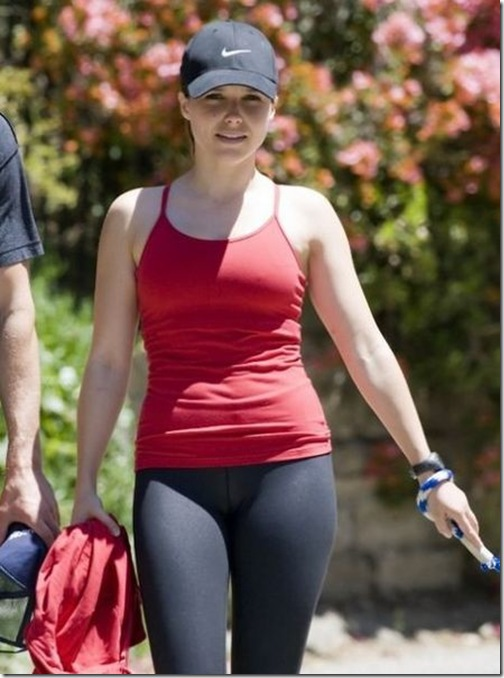 Hollywood Celeb In Spandex Photo 26